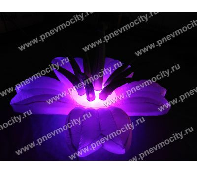Надувной Цветок Экзотика Розовый Диаметр 1м, фото 6