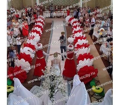 Пневмогирлянда Розы на свадьбу, фото 1
