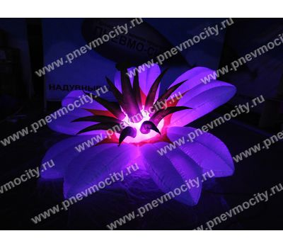 Надувной цветок Экзотика белый Диаметр 3м, фото 7