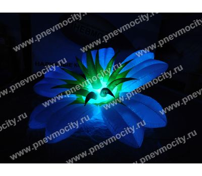Надувной цветок Экзотика белый Диаметр 3м, фото 5