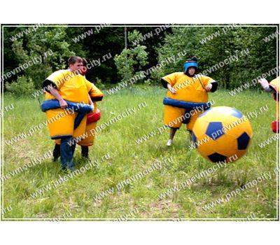 Надувной Спортивный Аттракцион. Мяч., фото 1