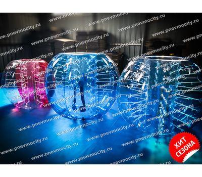Надувной аттракцион Бампербол ПВХ 1,5 х 1,3 м, фото 1