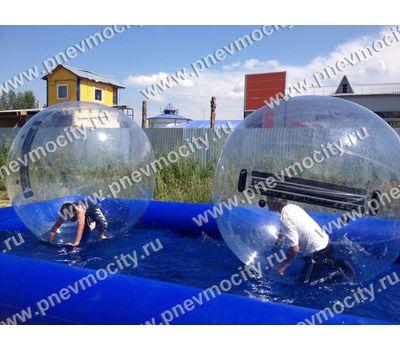 """Аттракцион """"Бассейн с водным шаром ТПУ"""" 5 х 5 м / 2 м, фото 1"""