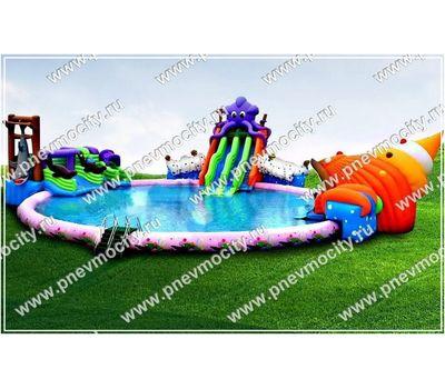 """Наземный надувной аквапарк бизнесплан. """"Ракушка"""", фото 4"""